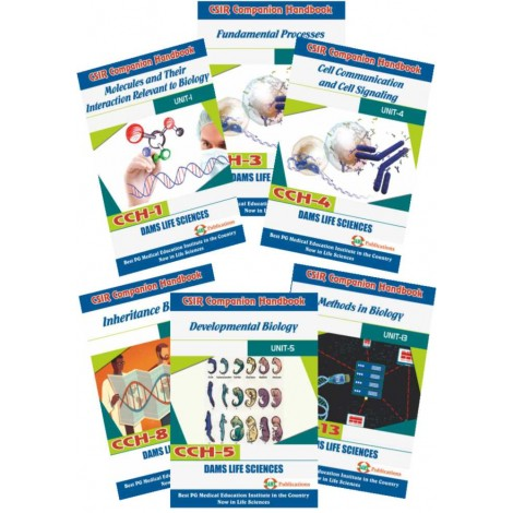 CSIR Combo of CCH-08, CCH-01, CCH-03, CCH-04, CCH-05 And CCH-13 (Set of 6 Books)