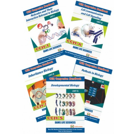 CSIR Combo of CCH-08, CCH-01, CCH-05, CCH-04 And CCH-13 (Set of 5 Books)