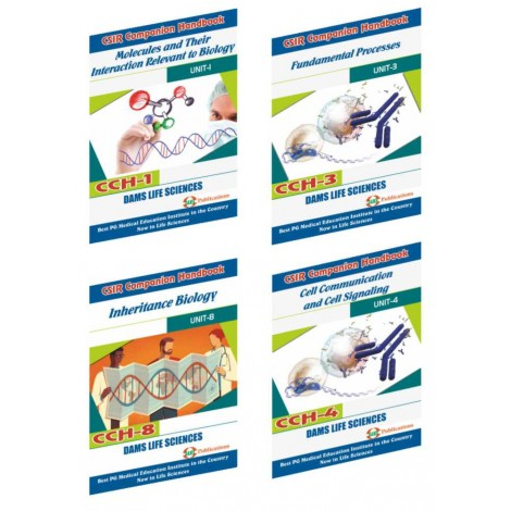 CSIR Combo of CCH-08, CCH-01, CCH-03 & CCH-04 (Set of 4 Books)