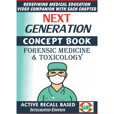 CRS-Short Subjects Forensic Medicine & Toxicology 2021 (NEXT GENERATION CONCEPT BOOK)