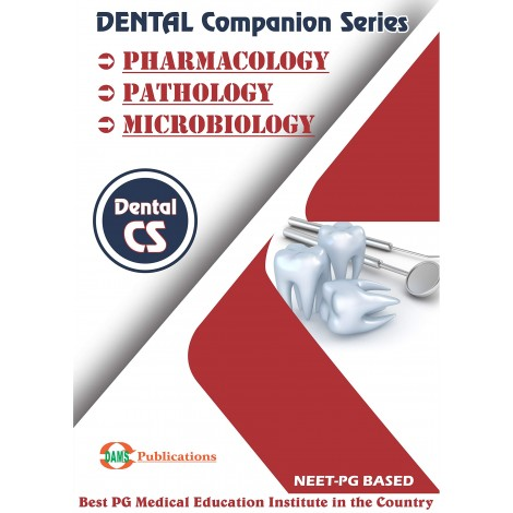 Dental Companion Series 2020 Combo of (Pharmacology, Pathology, Microbiology)