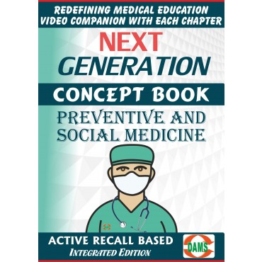 CRS-Short Subjects Preventive and Social Medicine 2021 (NEXT GENERATION CONCEPT BOOK)
