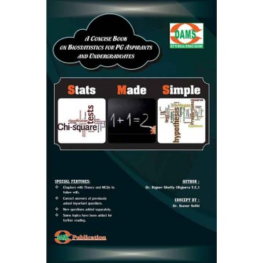 Mdms stats made simple a concise book on biostatistics for pg aspirants and undergraduates fandeluxe Gallery