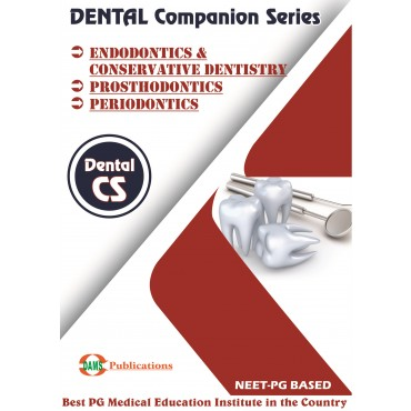Dental Companion Series 2020 Combo of (Endodontics and Conservative Dentistry, Prosthodontics, Periodontics)