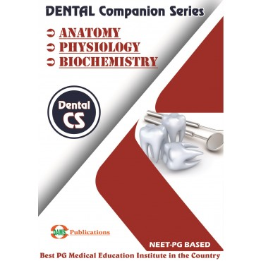 Dental Companion Series 2020 Combo of (Anatomy, Physiology, Biochemistry)