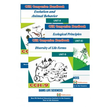 CSIR Combo of CCH-11, CCH-10 And CCH-09 (Set of 3 Books)
