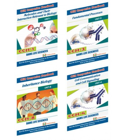 CSIR Combo of CCH-08, CCH-01, CCH-03 And CCH-04 (Set of 4 Books)