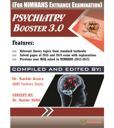 Psychiatry Booster 3.0 (For NIMHANS Entrance Examination)
