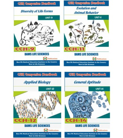 CSIR Combo of CCH-09, CCH-11, CCH-12 & CCH-14 (Set of 4 Books)