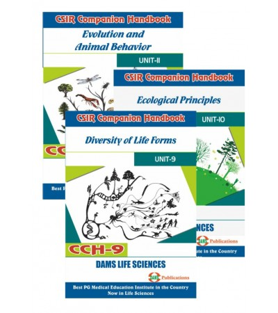 CSIR Combo of CCH-11, CCH-10 & CCH-09 (Set of 3 Books)